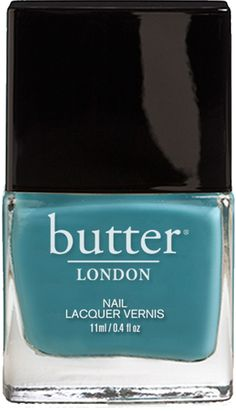 Teal Nail Polish – Artful Dodger : butter LONDON - love this colour