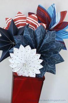 Patriotic Fireworks I Heart Nap Time | I Heart Nap Time - How to Crafts, Tutorials, DIY, Homemaker