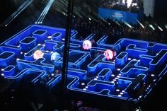 Life size pac man for beer commercial