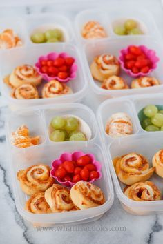 Tons of easy and healthy school lunch ideas.