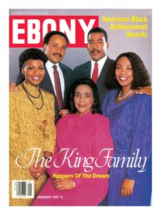 Correta Scott King and children of Dr. Martin Luther King, Jr. (1987). Follow #Professionalimage