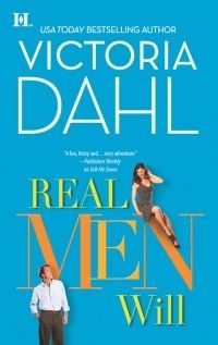 book cover of Real Men Will (Donovan Brothers Brewery , book by Victoria Dahl Cool Books, I Love Books, Book Sites, One Night Stands, Real Man, Bestselling Author, 1, Dahl, Victoria