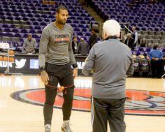 James Johnson talks about the #Toronto #Raptors Winning With Defense Again