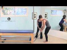 Quick Standing Tower Workout Classical Pilates - YouTube