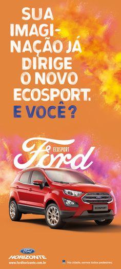 Banner de lançamento do novo  Ecosport Cliente: Ford Horizonte