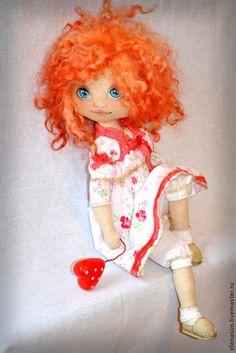 Коллекционные куклы ручной работы. Ярмарка Мастеров - ручная работа Рыжик. Handmade.
