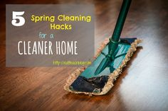 Spring cleaning can be a struggle. Here are five hacks that will make it easier. Spring cleaning tips home hacks! The kitchen, the living room, bedroom.
