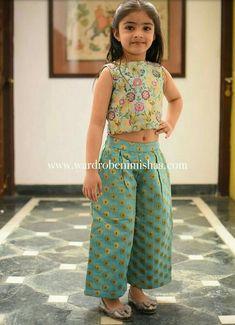 Ideas For Children Clothes 2019 - Kids designer dresses - Kids Dress Wear, Kids Gown, Little Girl Dresses, Kids Indian Wear, Kids Ethnic Wear, Indian Dresses For Kids, Kids Frocks Design, Baby Frocks Designs, Kids Lehanga Design