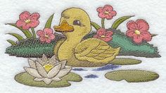 Hey, I found this really awesome Etsy listing at https://www.etsy.com/listing/96137879/easter-duckling-chick-embroidered-flour