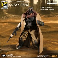 Mezco's One:12 Collective Dawn Of Justice Knightmare Batman Figure Still Coming