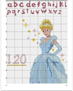 Height Chart, Horoscope Signs, Princesas Disney, Le Point, Clematis, Cross Stitch Patterns, Cinderella, Disney Characters, Disney Princesses