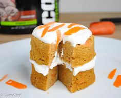 Carrot Cake Protein Mug Cake