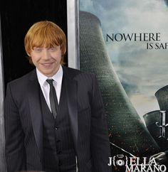 Rupert Grint in the Harry Potter and The Deathly Hallows Premiere