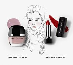 Marc Jacobs Beauty featuring Flourescent Beige and Surrender Dorothy