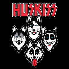 Wolf Rock from Siberia Kiss Rock, Rock And Roll, Vintage Kiss, Band Wallpapers, Kiss Band, Hot Band, Christmas Gifts For Friends, Music Memes, Rock Music