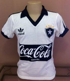 Botafogo Away Brazil Retro Jersey Soccer Football Maglia Trikot 80s  f037918c66f7b