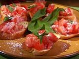 Tomato and Anchovy Bruschetta Recipe - this made for a very satisfying dinner!