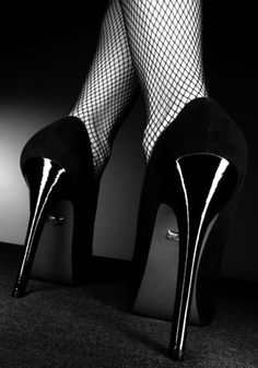 Your boudoir shoot is the perfect excuse to buy yourself the heels you've always dreamed of!