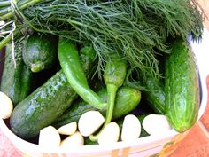 Pickles, Cucumber, Vegetables, Recipes, Food, Canning, Essen, Vegetable Recipes, Eten