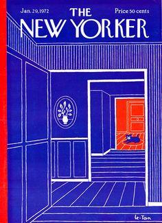 1972 CAT New Yorker Cover Art / Wild & Crazy