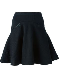love embroidered skirt
