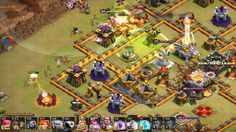 TH 11 Base Clash of Clans War Attack Game Play