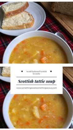 This soup is very simple, nourishing, filling and cheap to make. Every single person in the world who makes tattie soup will have a different recipe/method for making it. I grew up in a broth loving house and I don't recall having tattie soup all … Scottish Dishes, Scottish Recipes, Irish Recipes, Vegan Soups, Vegetarian Recipes, Cooking Recipes, Healthy Recipes, Soup Recipes Uk, Cooking Bacon