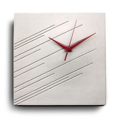 dimImpression Wall Clock White now featured on Fab.
