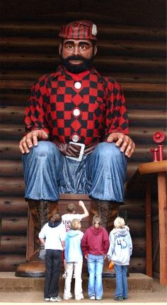 Paul Bunyan, Brainerd
