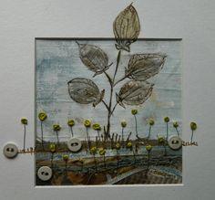 'A fine place'   by Louise O'Hara of DrawntoStitch  www.drawntostitch.com
