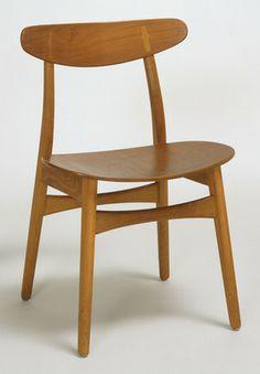 Hans Wegner (Danish, 1914–2007) Side Chair  Manufacturer:     Carl Hansen and Son, Odense, Denmark Date:     1955