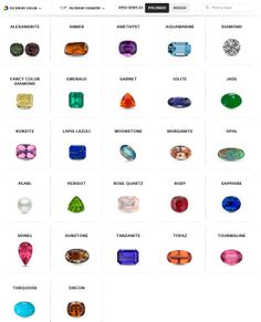Explore the secret life of gems with GIA's Gem Encyclopedia! We love GIA and its wealth of knowledge!!! (101514)