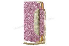 Samsung Galaxy S5 Simli Zincirli Taşlı Kılıf Pink -  - Price : TL32.90. Buy now at http://www.teleplus.com.tr/index.php/samsung-galaxy-s5-simli-zincirli-tasli-kilif-pink.html
