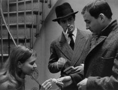 BANDE À PART Le trio du film culte de Godard