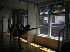 Esak Garcia Standing Bow Pulling pose 2007 Bikram Yoga Philadelphia