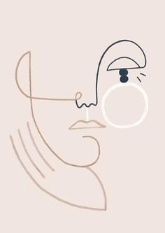 Matisse Face Art Print Henri Matisse Inspired Portrait Line Henri Matisse, Art Sketches, Art Drawings, Minimal Art, Abstract Faces, Poster S, Geometric Art, Face Art, Giclee Print