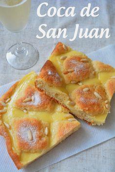 Coca de Sant Joan / Coca de San Juan - Las cosas de mi cocina