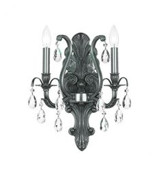 Two Light Pewter Wall Light : 29F_G | Annapolis Lighting