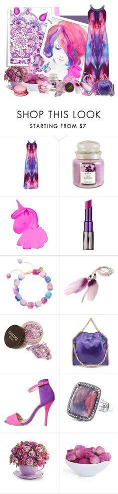 """""""Aquarelle"""" by frane-x ❤ liked on Polyvore featuring Hallmark, Fizz Creations, Urban Decay, Lola Rose and STELLA McCARTNEY"""
