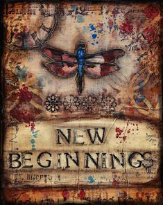New beginnings dragonfly, by Shawn Petite