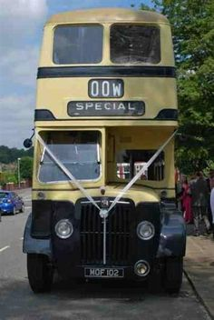 Vintage Double Decker Bus Hire Alt To Wedding Limo Themarriedapp Hearted 3