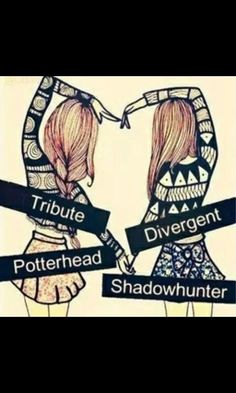 shadowhunter potterhead tribute divergent