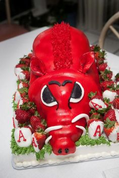 University of arkansas Razorback cake