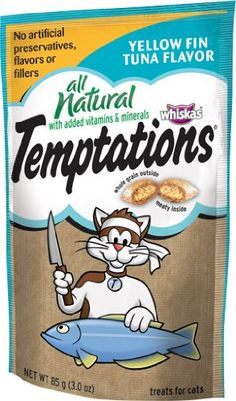 Cat Will Only Eat Temptations Treats