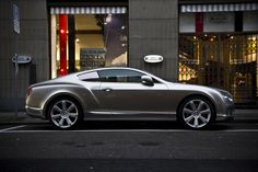 gold Continental GT | Flickr - Photo Sharing!