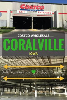 BulkTraveler took a trip to the corn fields of Coralville, Iowa to check out the Costco that has a massive indoor parking garage.