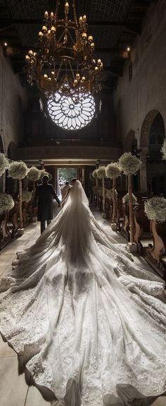 More than a million dollar dress!