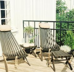 Deck Chairs, Garden Chairs, Outdoor Chairs, Outdoor Furniture Sets, Outdoor Decor, Wood Crafts, Diy And Crafts, Backyard, Patio