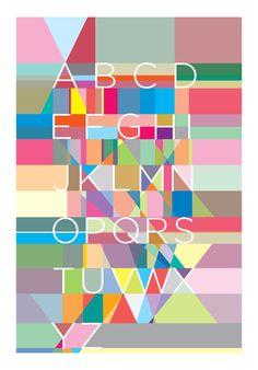 Alphabet posters - Yoni Alter