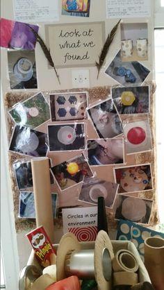 Circles in the environment at Chadwell Preschool